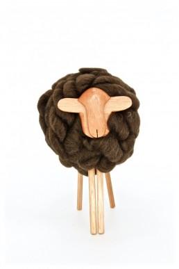 don carlos - yacana - mouton - bois -uruguay - handmade - fait main - décoration - déco - décoration d'intérieur - laine - bois - natural - mérino