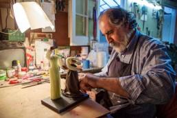 coulisses - Yacana - Luis Alberto - Gutierrez-Sculpteur - Montevideo Uruguay