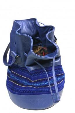 yacana paris - sac bourse - équateur - sac quito bleu