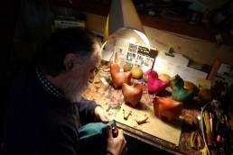 coulisses-Yacana - Luis Alberto - Gutierrez-Sculpteur - Montevideo Uruguay