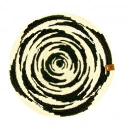 centre de table en cactus noir et blanc yacana