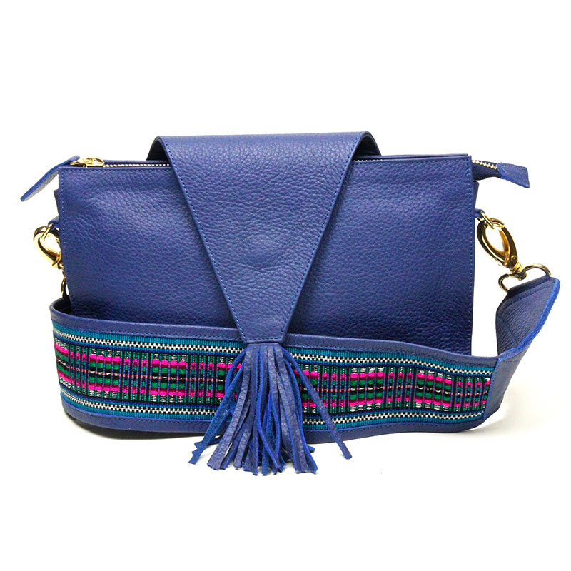 yacana paris - pochette - sac cuenca bleu