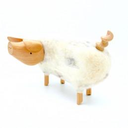cochon déco d'intérieur de l'artiste uruguayen Carlos Clavelli