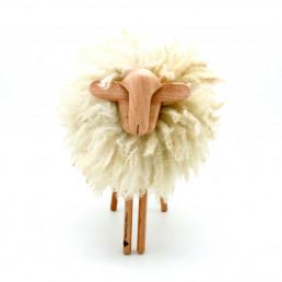 Mouton Déco en laine naturelle de Carlos Clavelli by yacana